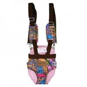 쏘아베 트임 앞가방-대 (회색,핑크 색상랜덤)강아지이동장 이동가방