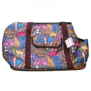 쏘아베 프리스타일 가방(회색,핑크 색상랜덤)강아지이동장 이동가방