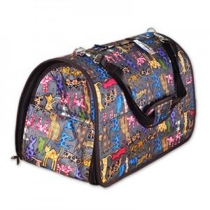 쏘아베 타원형 가방-대(회색,핑크 색상랜덤) 강아지이동장 이동가방