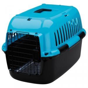 유로 익스플로러 캐리어 50 (블루) M 강아지이동장 이동가방