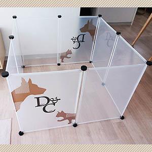 D&c 투명 울타리 8P 애견울타리 하우스 개집