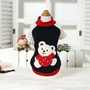 레드곰탱이티(강아지 옷 의류)