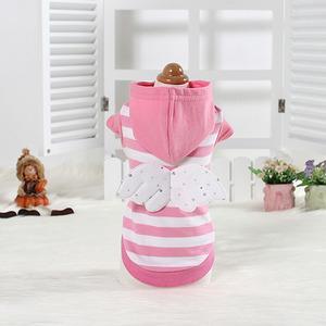 핑크천사후드티(강아지 옷 의류)