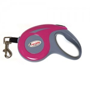 쿠치올로 자동줄 3M (핑크) 애견산책줄 강아지리드줄 애견 고양이 개줄